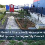 OceanGuard and Filterra biofiltration systems provided approval by Logan City Council